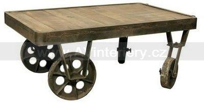 Konferenční stolek HPCT015, industriální nábytek | AV interiéry