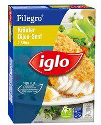 Filegro - Fisch-Filets frisch zubereitet von iglo