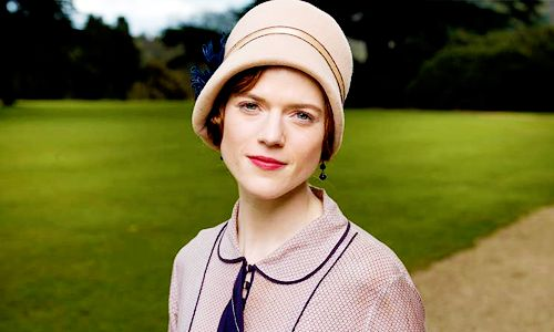 Rose Leslie. Downton Abbey Season 6 Episode 4