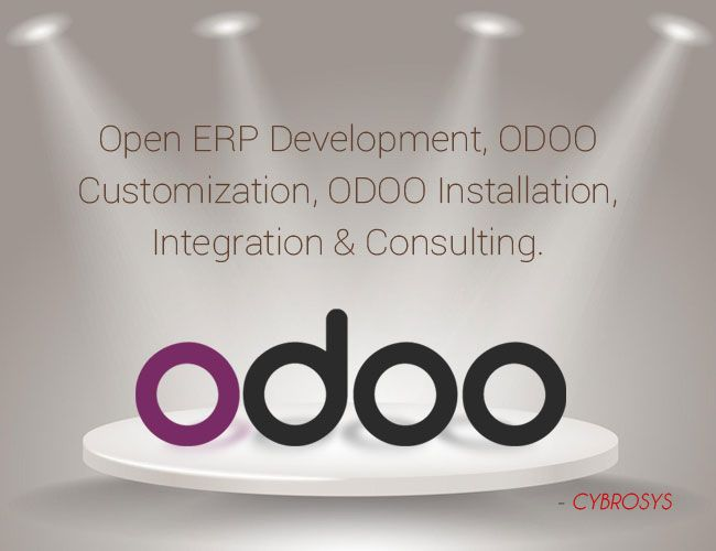 "Odoo-  ""The next generation of ERP Software. "" Our Odoo team possesses vast and deep expertise in rapid offshore outsource software development designed to meet your organization's specific requirements and business needs. So you can use them in your projects as it's your own employee,"