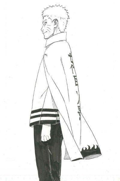 Official image of Naruto from the upcoming Naruto series - Naruto Gaiden: Nanadaime Hokage to Akairo no Hanatsuzuki