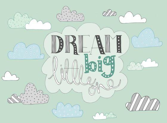 Image of 'Dream Big Little One' Print