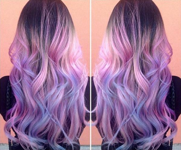 Pink And Purple Hair Styles: Top 20 Choices To DYE Your Hair Purple -