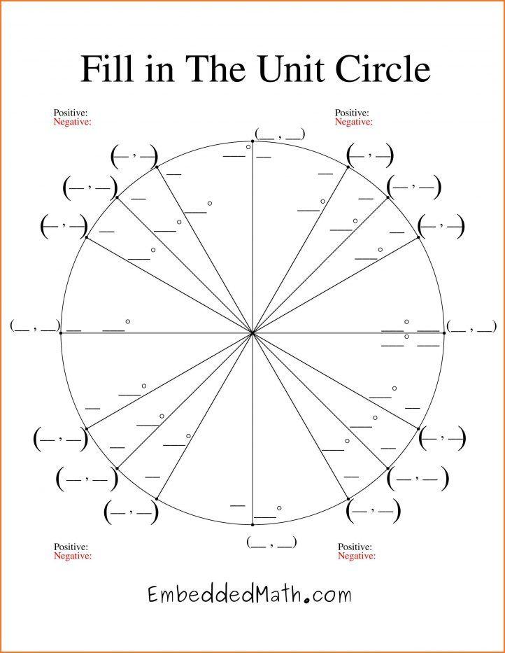 Unit Circle Chart Check more at   cleverhippoorg/unit-circle
