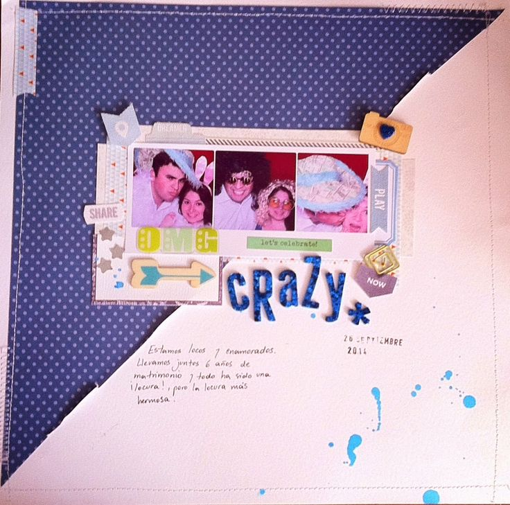 "I added ""Crazy- Scraplift for ""The studio challenges"""" to an #inlinkz linkup!http://sweetscrapva.blogspot.com/2014/10/crazy-scraplift-para-el-reto-studio.html"