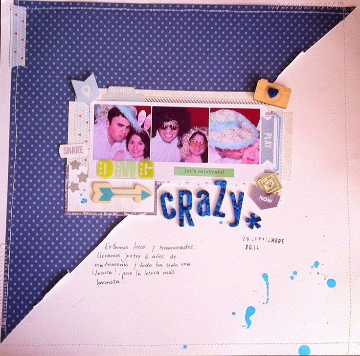"I added ""Crazy- Scraplift for ""The studio challenges"""" to an #inlinkz linkup!http://sweetscrapva.blogspot.com/2014/10/crazy-scraplift-para-el-reto-studio.html"