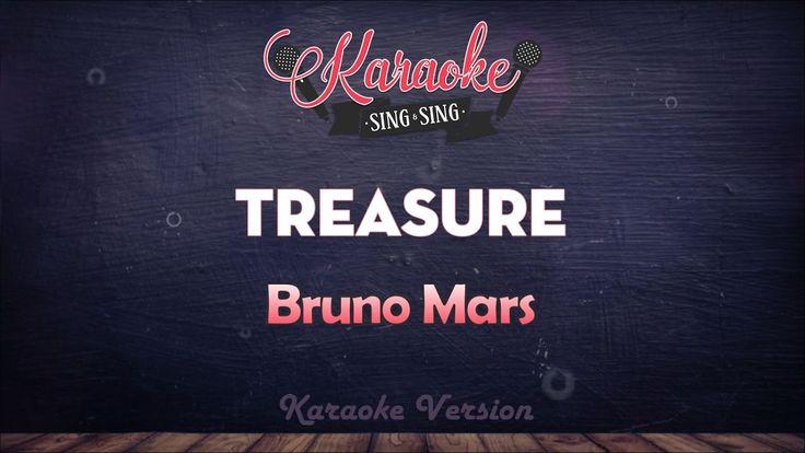 Bruno Mars - Treasure (Clean) (Karaoke Version)