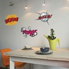 Comic book multi-pack wall stickers