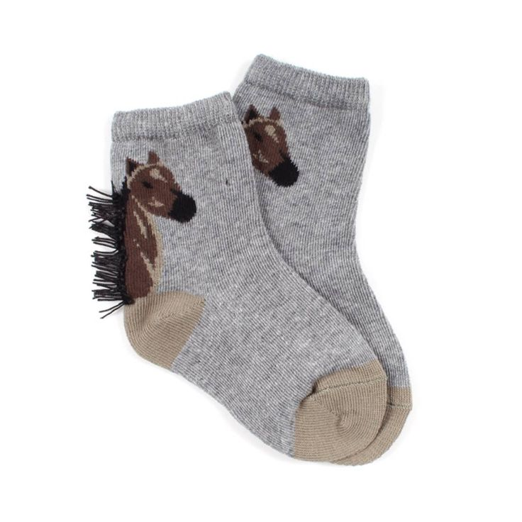 STELLA McCARTNEY KIDS Horse socks...Why don't they make them for adults?! I want a pair!