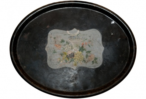 Old Metal Tray