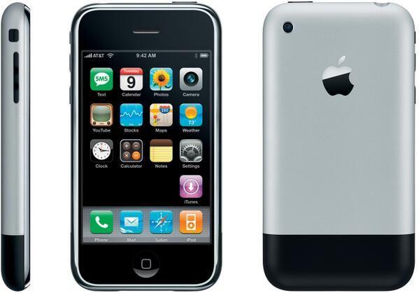 My first iPhone! Original iPhone - 2007. Happy 7th Birthday iPhone!