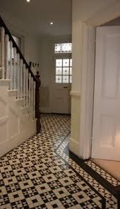 open spindle staircase edwardian hall - Google Search