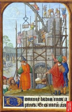 illustration by Gerard Horenbout to a Book of Hours  Add. MS 35313 folio 34  British Library, London, England  Netherlands (Bruges or Ghent), circa 1500
