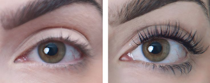 sugarlash before and after | These Before-And-After 'Eyelash Lift' Photos Will Give You Serious Lash Envy