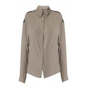 Camisa Shoulders Khaki. 44,90€