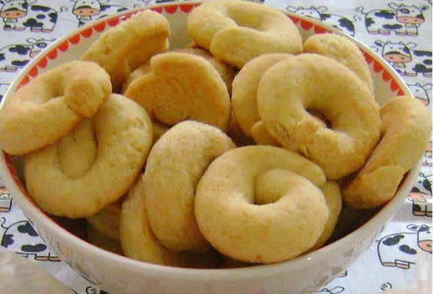 Rosquinhas De Creme De Leite Receita Receitas Receita De Rosquinhas Biscoitos