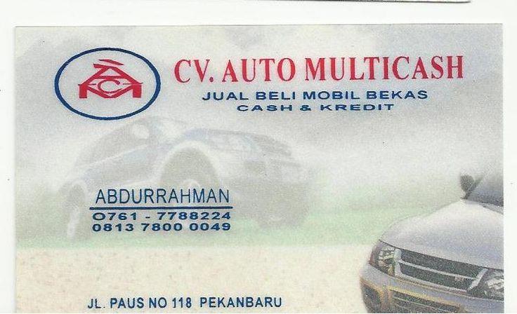 CV. Auto Multicash - Abdurrahman