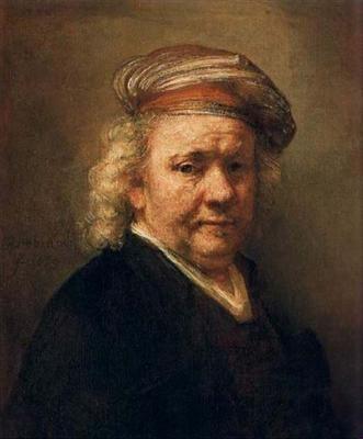 Rembrandt : Autoportrait La Haye