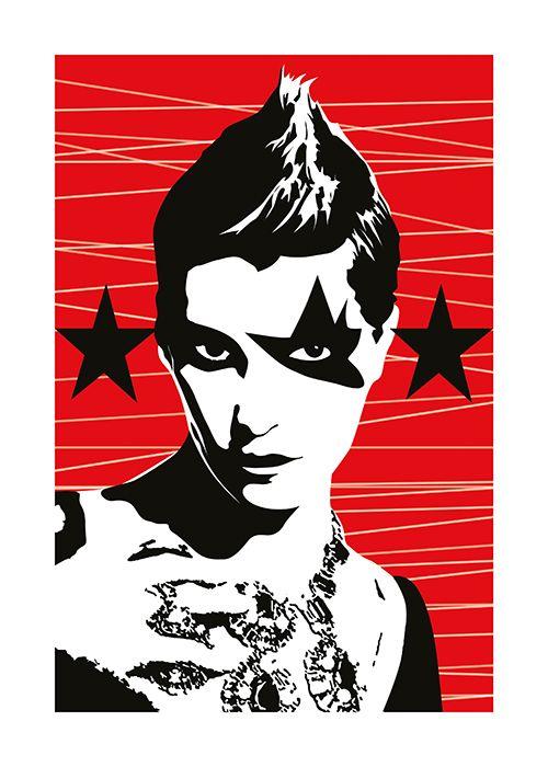 #Poster #Kunstdruck Fine Art Print Chao Zhang Luxury Punk Twenty Four Gallery #twentyfourgallery #artprint #art #illustration