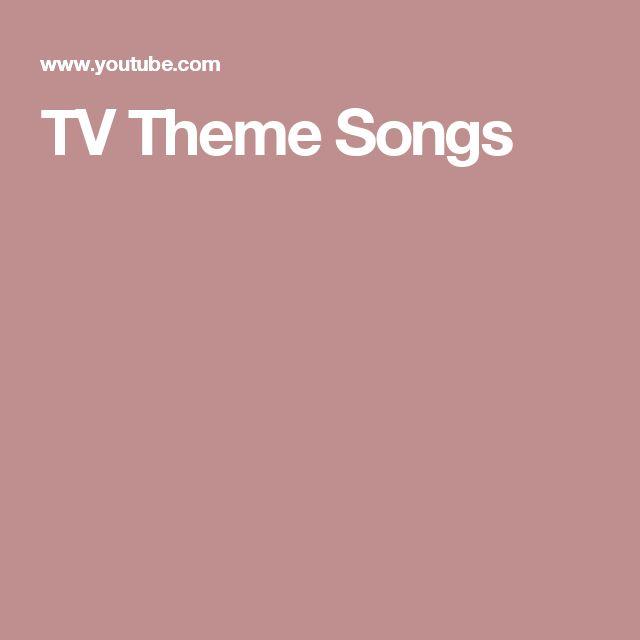 TV Theme Songs
