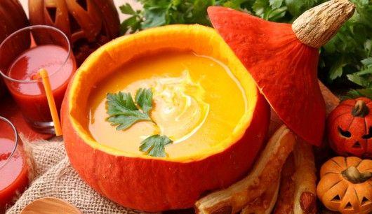 Low carb Rezept: Kürbis-Kartoffel-Suppe