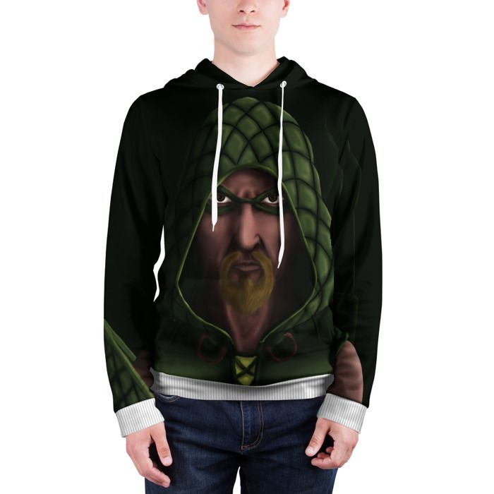 Hoodie Green Arrow Apparel Fan Art Merchandise Collectibles