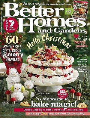 @bhgaus #magazines #covers #december #2016 #festive #food #recipes #home #gardens #inspiration #ideas