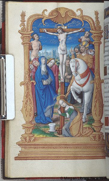 Book of Hours, MS M.85 fol. 40v - Images from Medieval and Renaissance Manuscripts - The Morgan Library & Museum