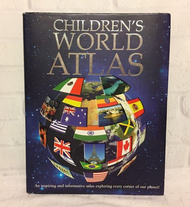 Children's World Atlast 2006 Igloo Books British Library