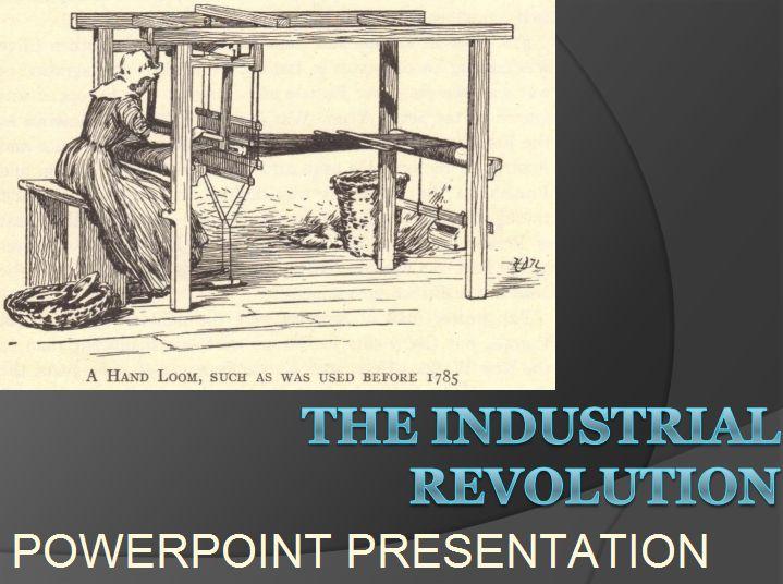 Industrial Revolution - Free PowerPoint Presentation for High School World History