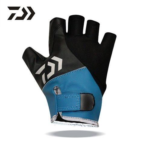 2016 Top Quality Anti Slip Fishing Gloves