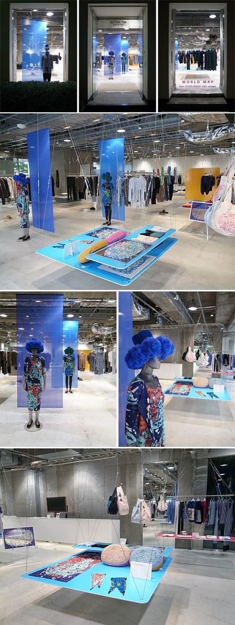 Hanging product display #retail #design #display