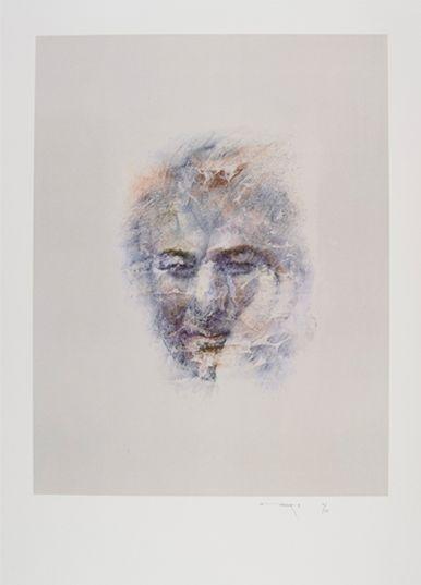 portrait Seamus Heaney, Louis Le Brocquy