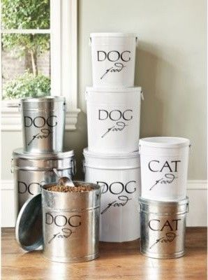 Pet Food Canisters contemporary pet accessories