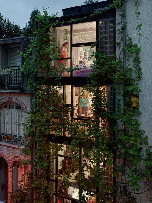 Villa Santos-Dumont, 15th arrondissement, Paris, 2013. Photo by Gail Albert Halaban