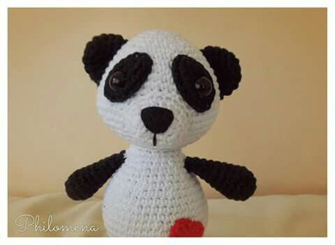 Oso Panda Amigurumi Patron Gratis : 401 best crochet i like panda bears images on pinterest