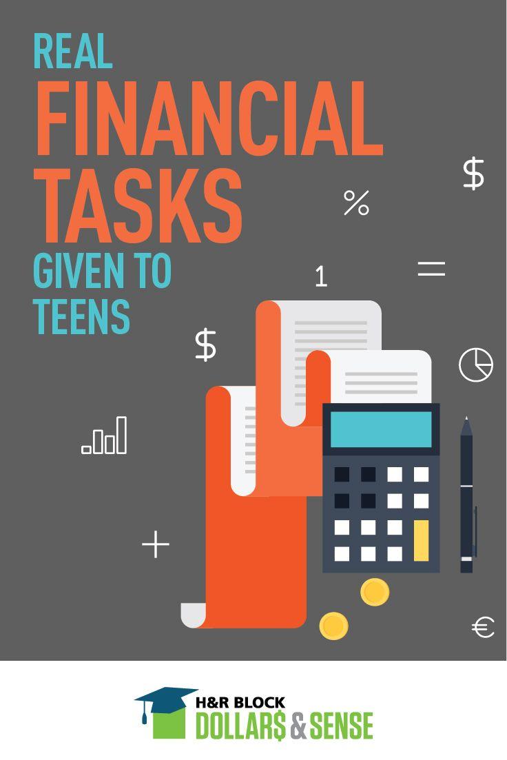 Give Teens a Real Financial Task #education #highschool #money