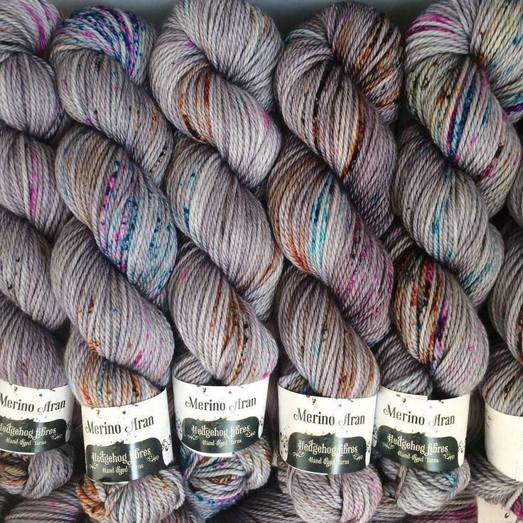 Not into brights? Salty Tales is such a beautiful neutral with a little bit of a speckly twist! By Hedgehog Fibres.