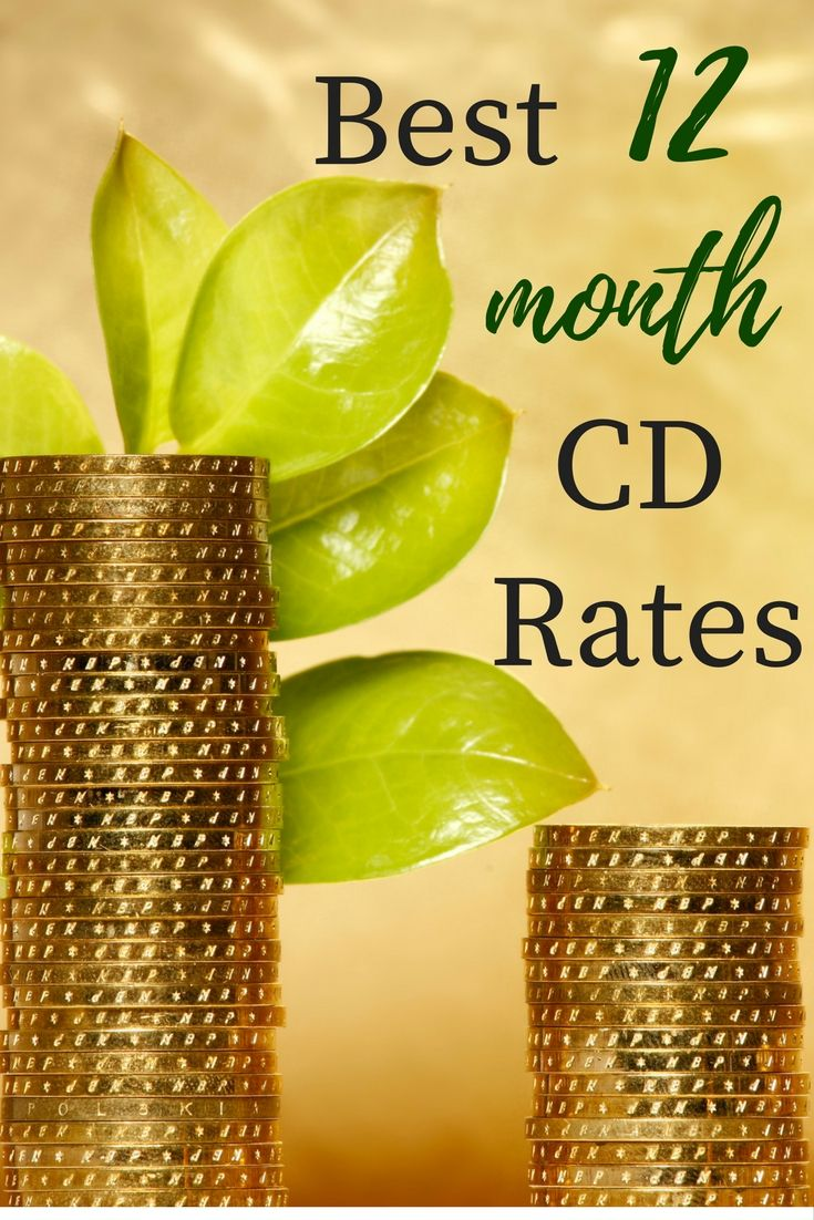 Best 25 bank cd rates ideas on pinterest bank cd cd account the best 12 month cd rates for 2018 1betcityfo Gallery
