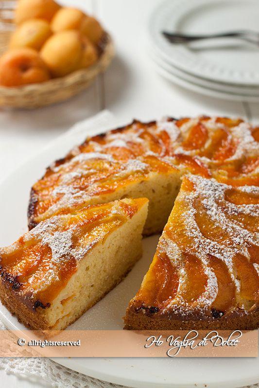 Torta+alle+albicocche+e+yogurt