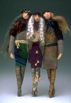Love Gretchen Lima's dolls...