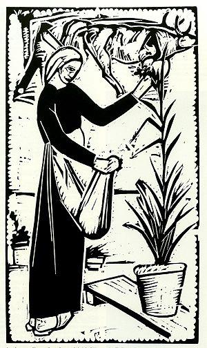 Lorenzo Viani, Xilografia, 1921