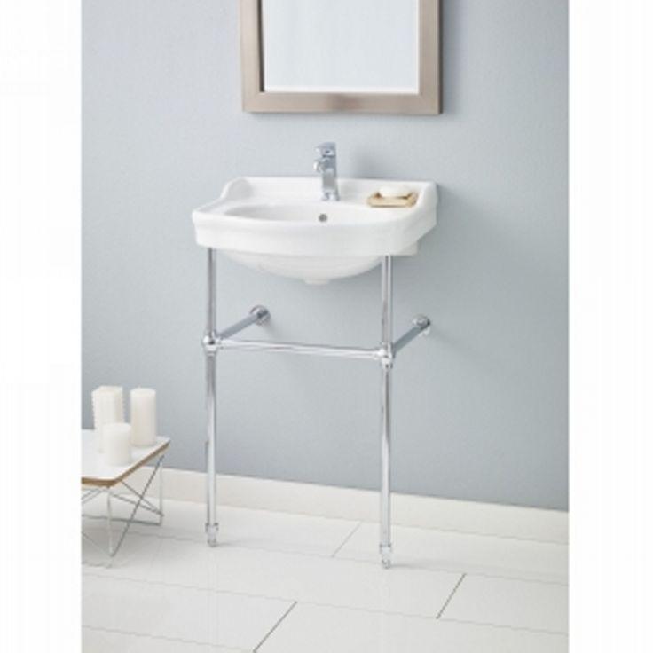 Cheviot 350 22 WH 8 575 CH Antique Pedestal Sink 8