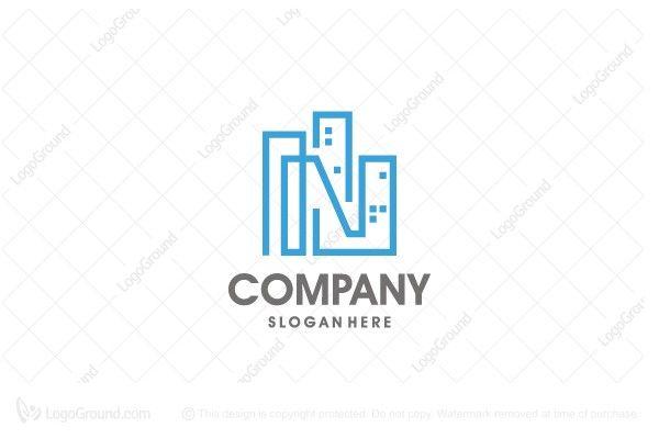 Logo for sale: N Building Logo