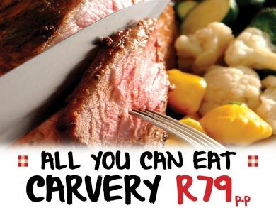 Mikes Kitchen Milnerton - All you can eat carvery R79 p.p