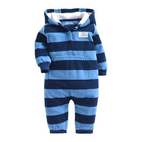 cbe6e9d5a8 2018 Baby Rompers Coat Autumn Winter Clothes Kids Boy Romper Newborn  Cutedresskily