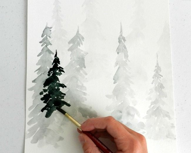 25 best ideas about nature paintings on pinterest for Painting on water tutorial