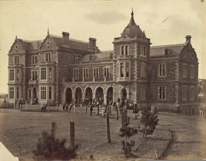 Prince Alfred College at Adelaide,South Australia (year unknown).