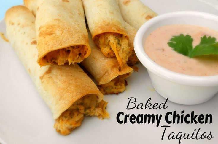 Baked Chicken Taquitos (Weelicious Cookbook) Recipe — Dishmaps