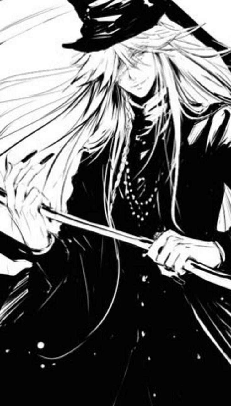 Black Butler Undertaker Shinigami Kuroshitsuji